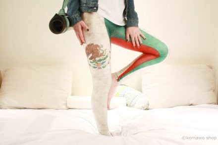 Mexican Leggings from Etsy