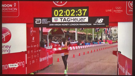 2019 London Marathon - Eliud Kipchoge